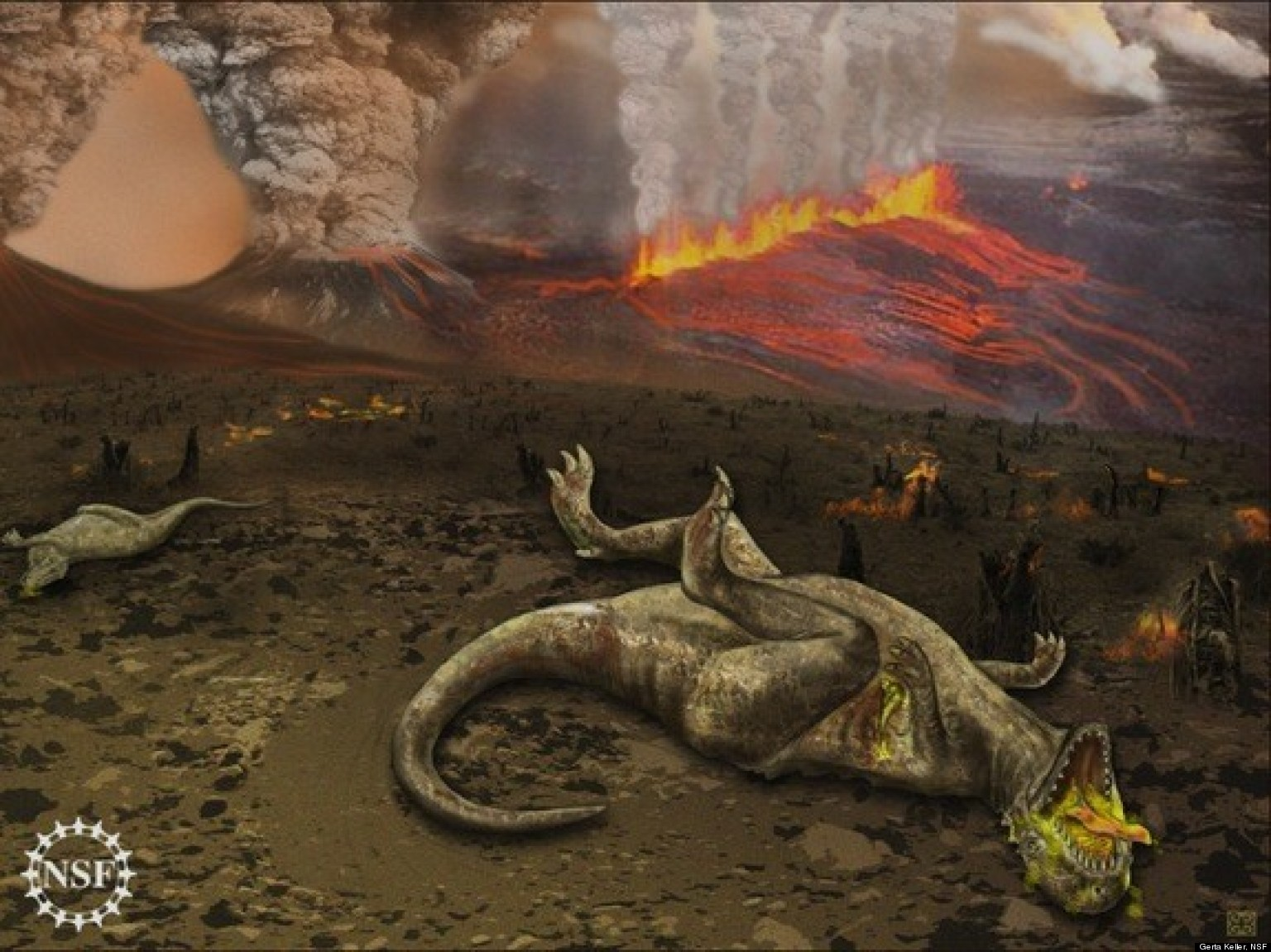 dinosaur killing asteroid size - photo #21