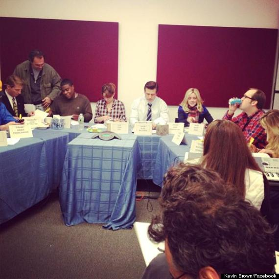 30 rock final table read