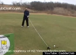 WATCH: Longest Usable Golf Club Is More Than 14 Feet Long