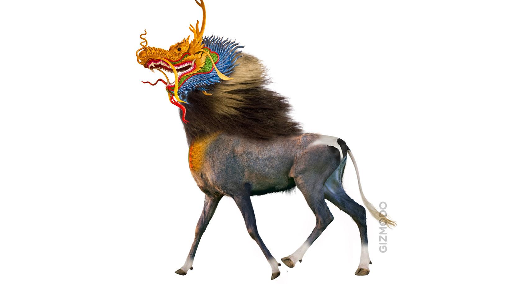 mythical north korean creature unicorn