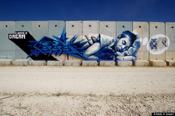 artists 4 israel bomb shelter
