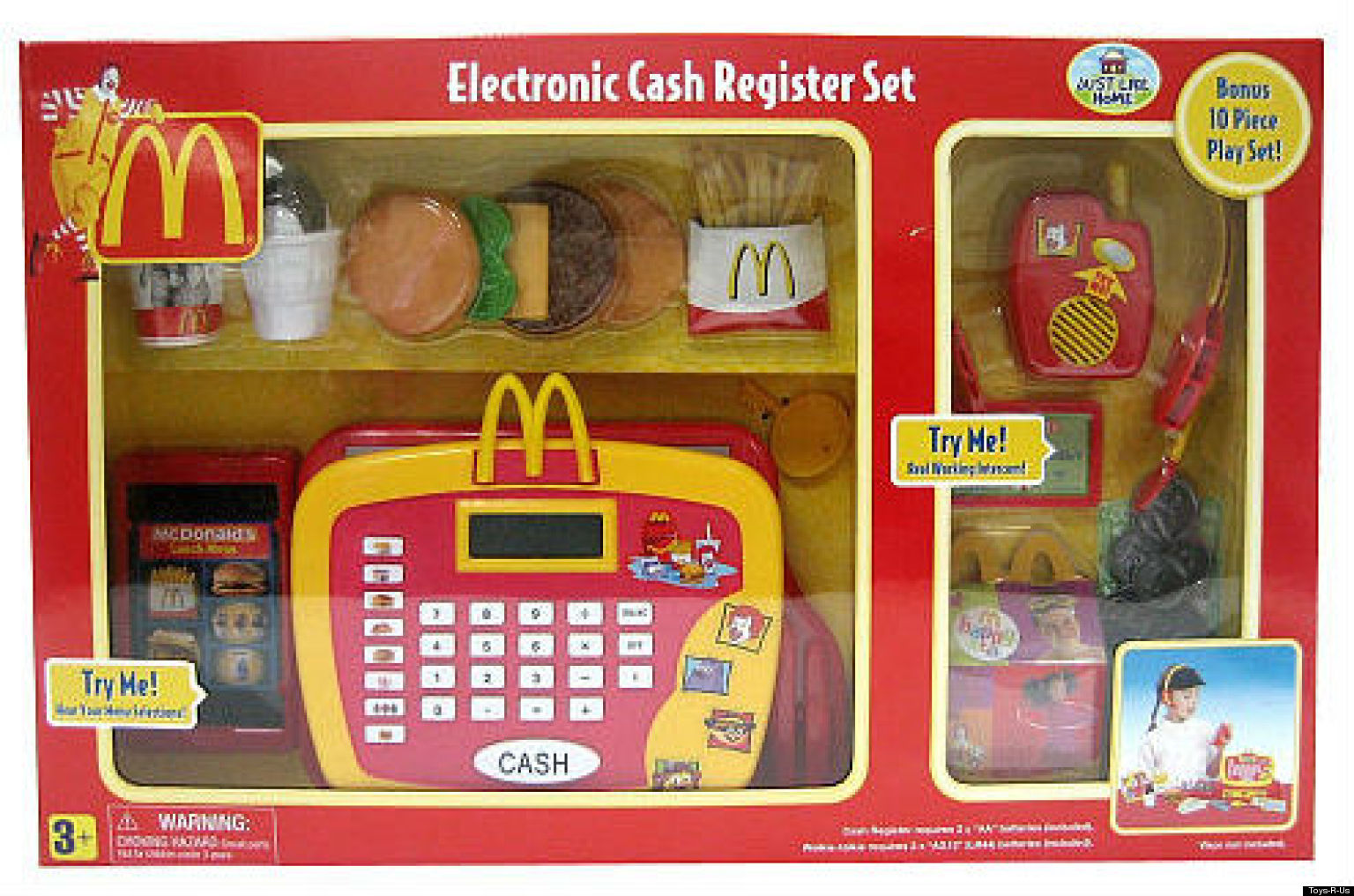 Mcdonald S Cash Register Playset Lower Your Kid S
