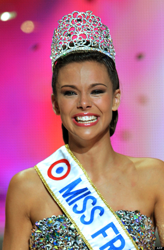 PHOTOS. Miss France 2013 est Marine Lorphelin, Miss Bourgogne