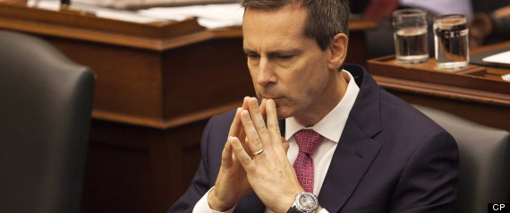 ONTARIO TEACHERS WALKOUTS MCGUINTY