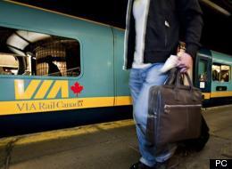 Ralentissement des trains de VIA Rail Canada