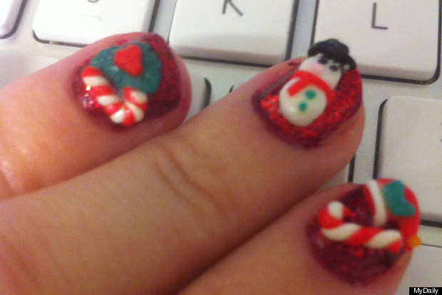 3d nail art test