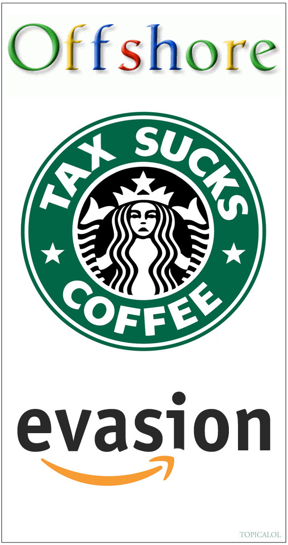 google amazon starbucks logo