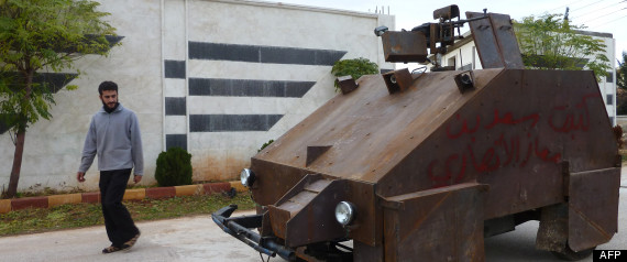 TANK ARTISANALE SYRIE