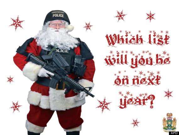 abbotsford police santa