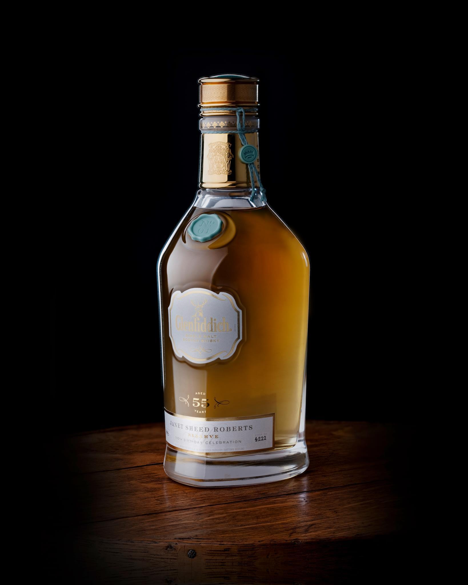 glenfiddich 1955 whisky auction