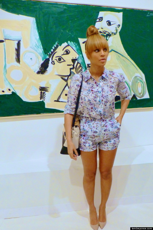 beyonce art basel fair