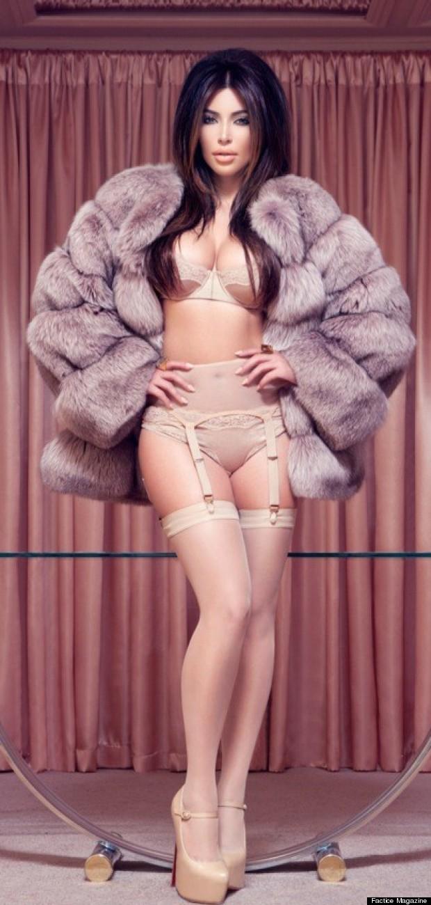 kim kardashian fatice magazine