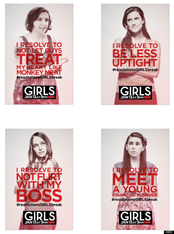 girls posters season 2
