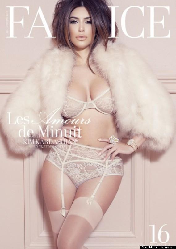 kim kardashian lingerie