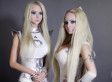 Human Barbie's Twin: Olga 'Dominica' Oleynik, Valeria Lukyanova Team Up (PHOTOS)