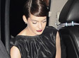 Anne Hathaway Flashes Photographers, Pulls A Britney At 'Les Miserables' Premiere (PHOTO)