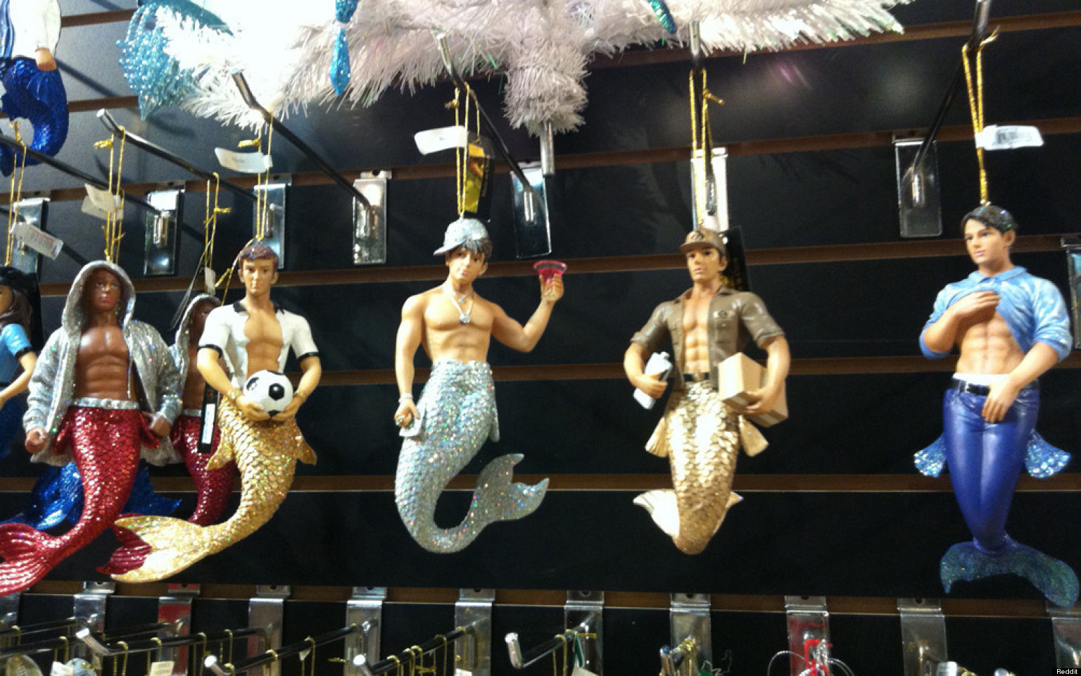 from Tyson christmas ornaments for gay males