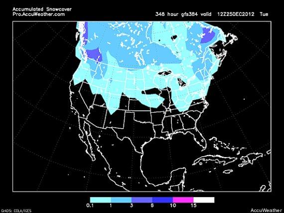 White Christmas Forecast.White Christmas 2012 How To Forecast Holiday Snow Huffpost
