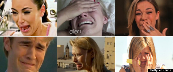 CELEBRITIES CRYING