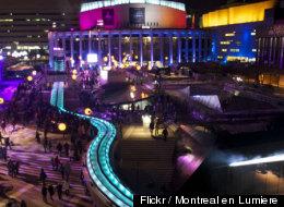 Montréal en lumière: encore plus d'activités extérieures
