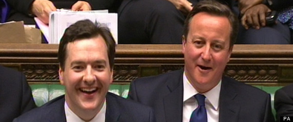 david cameron and george osbrone