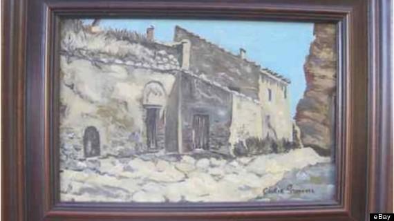 cecilia gimenez art on ebay