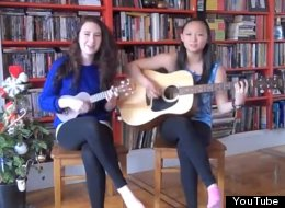 Teen Girls' Ukulele Cover Of 'Gangnam Style' (VIDEO)