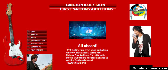 FIRST NATIONS CANADIAN IDOL