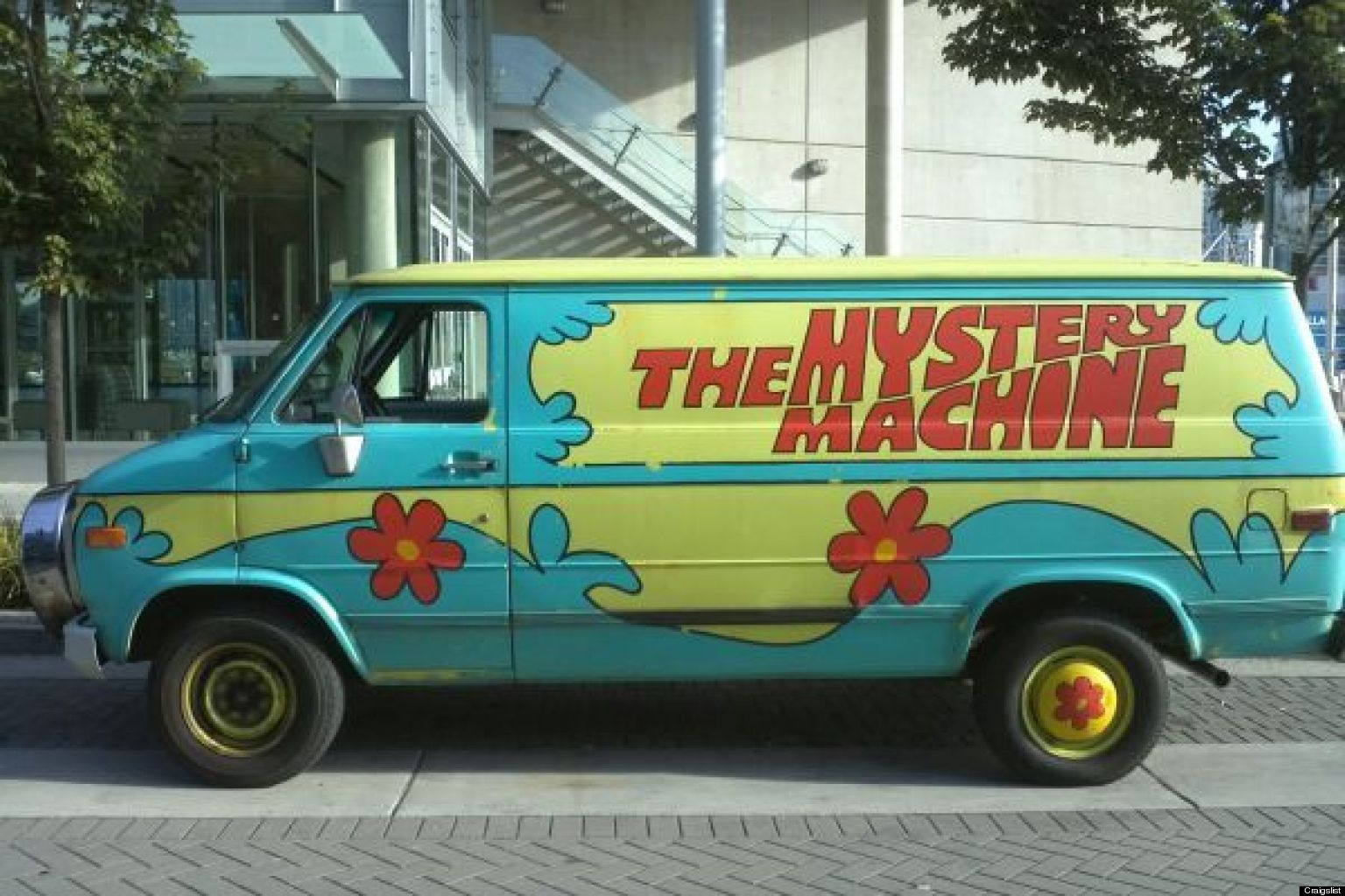 Mystery Machine For Sale Scooby Doo Van On Craigslist Ebay