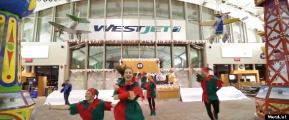 WESTJET CALGARY FLASH MOB