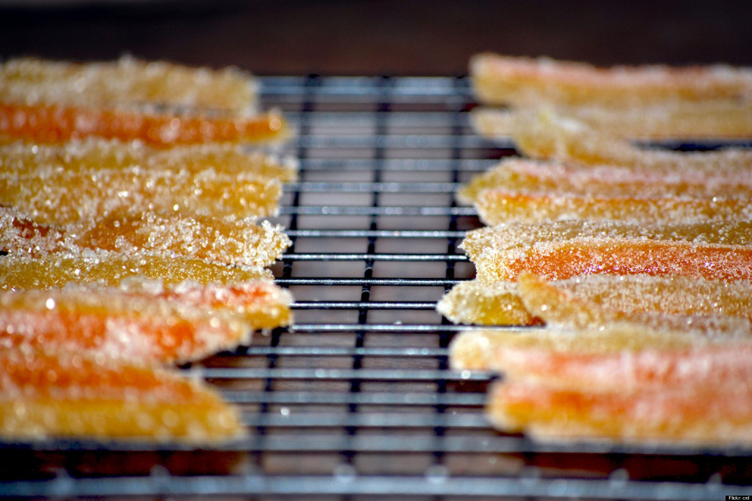 candied orange peels recipe watch huffpost