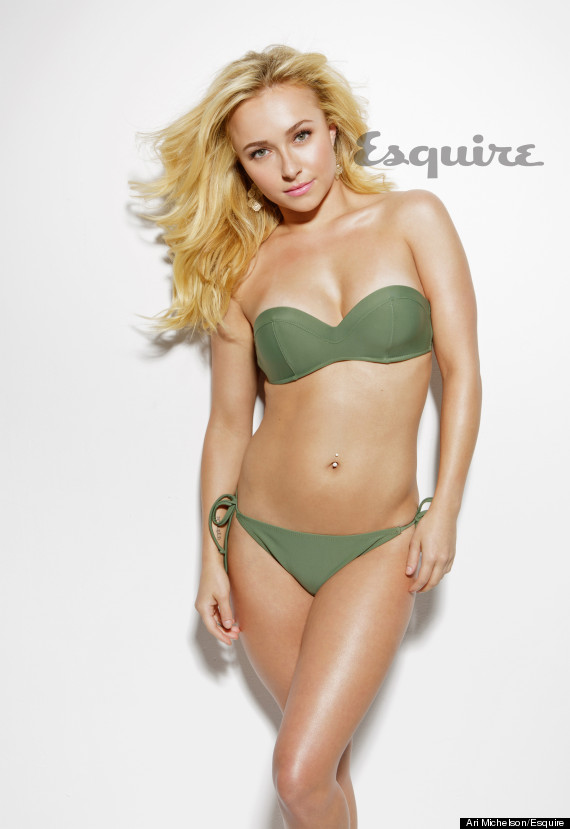 hayden panettiere strips down