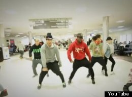 What Happens When Bieber's Dancers Get Stuck In An Airport... (VIDEO)