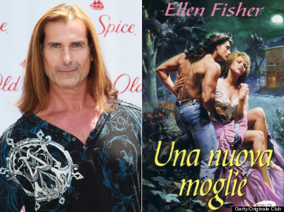 Romance Book Cover Male Models : Celebrities who have modeled for book covers photos