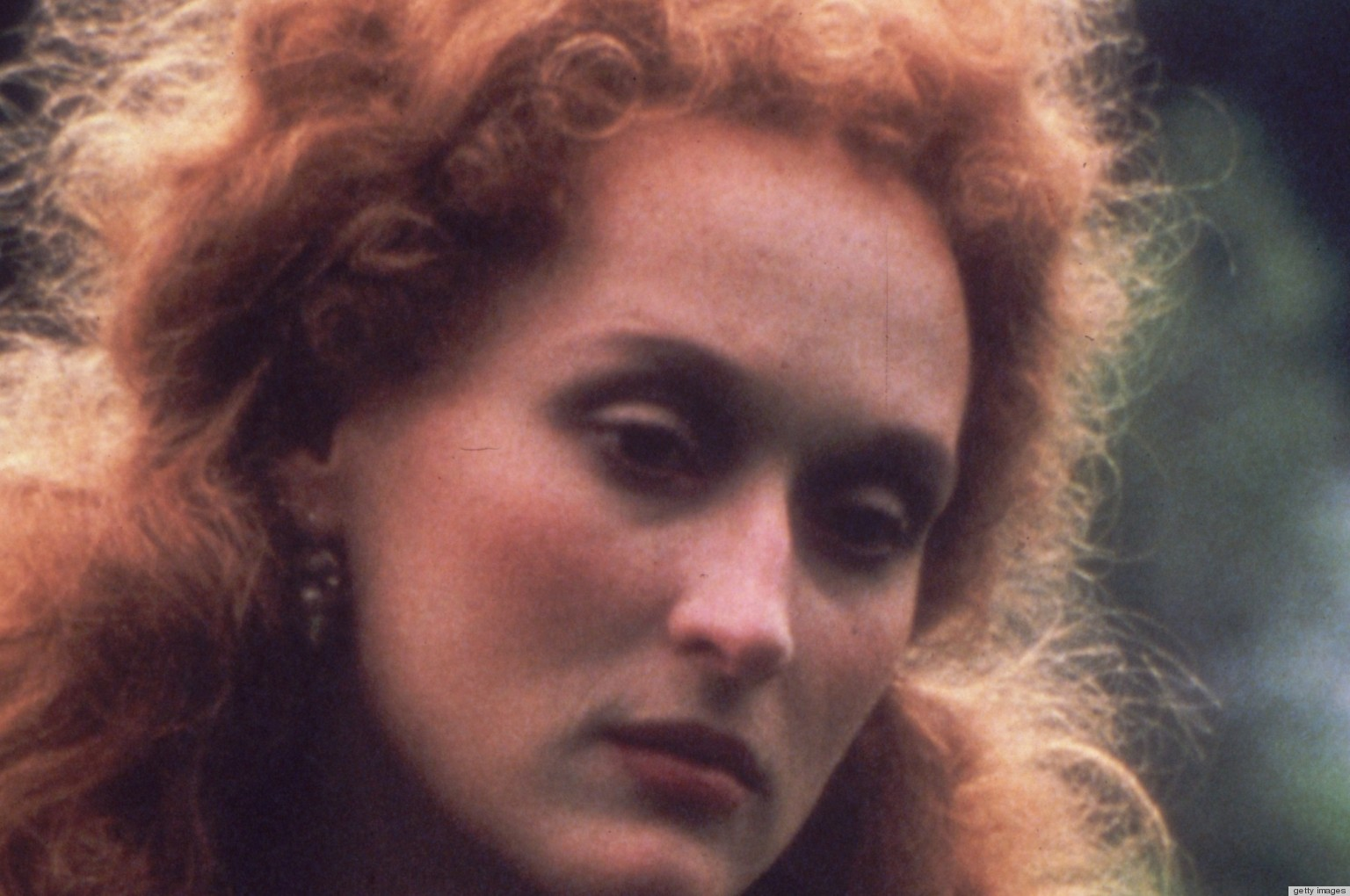 Cool Meryl Streep In Her Younger Years With Red Hair Photo Huffpost Hairstyles For Men Maxibearus