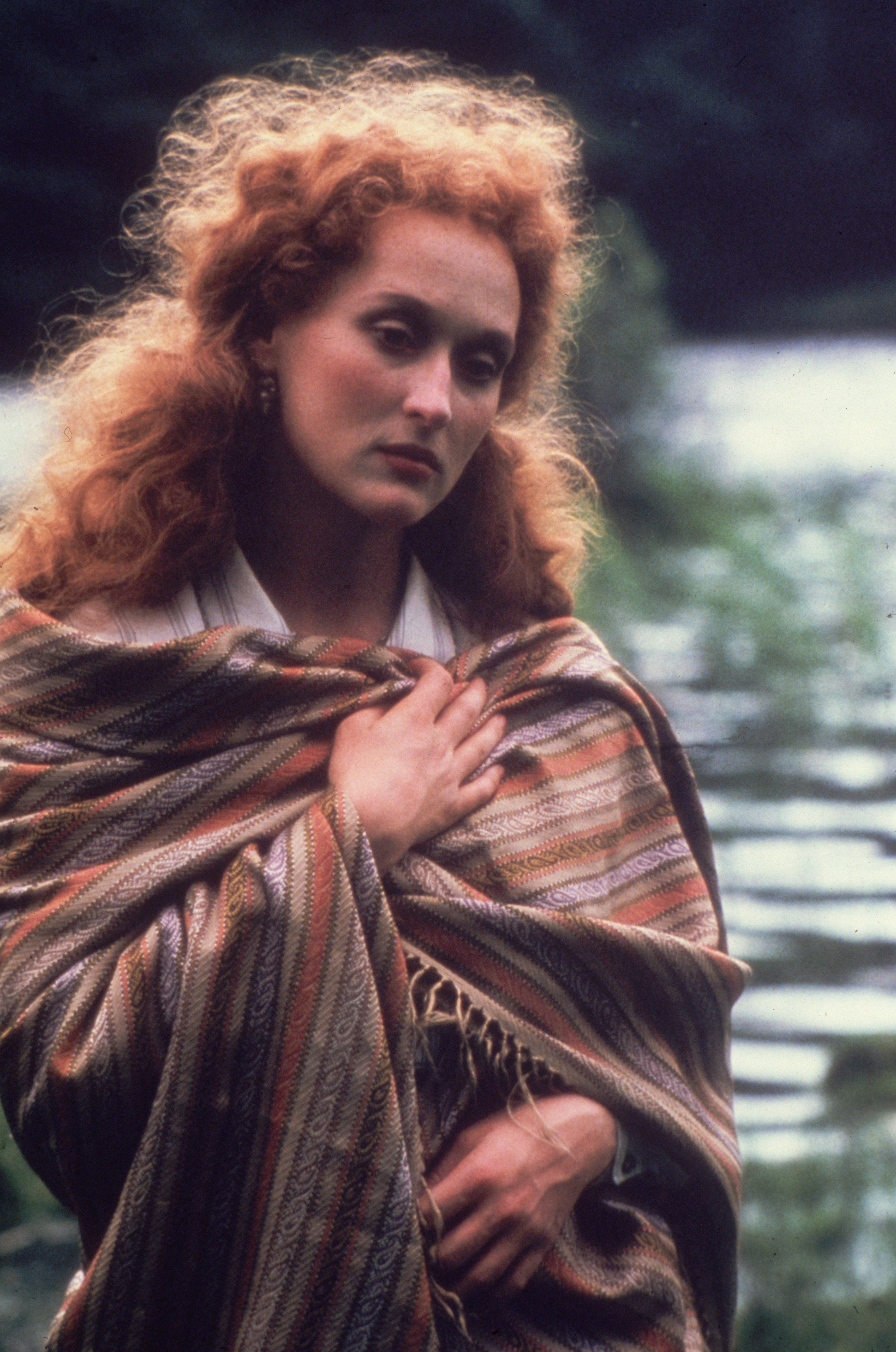 Meryl Streep In Her Younger Years With Red Hair (PHOTO)