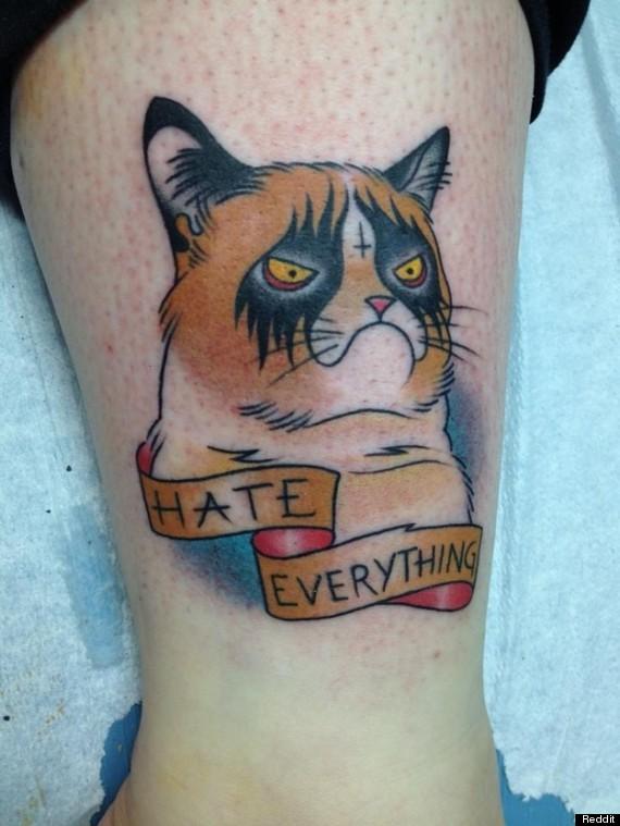 5 Tatoos Useful Cat Tattoo Designs Pinterest