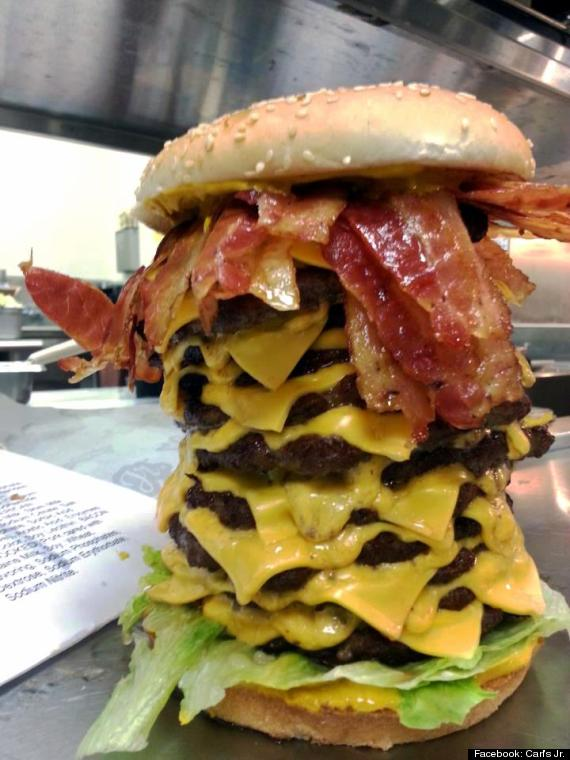 12x12x12' Burger From Carl's Jr. Is An Apocalyptic Wonder (PHOTO)