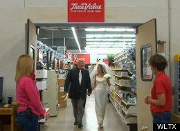 'True Love At True Value': Couple Marries In Hardware Store
