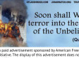 Anti-Islam Subway Ads By Pamela Geller Feature Exploding World Trade Center, Quote From The Quran (PHOTO)