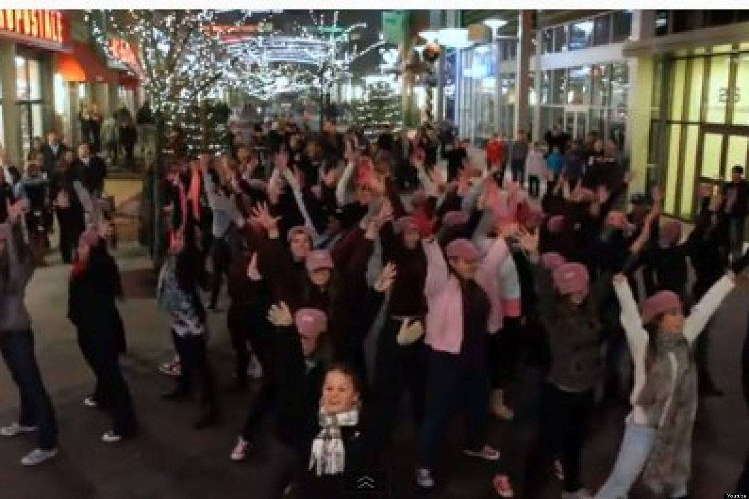 Dean College Flash Mob: All I Want For Christmas Is A ...