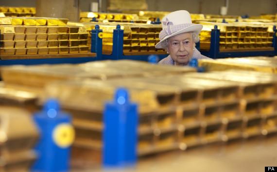 queen gold vault