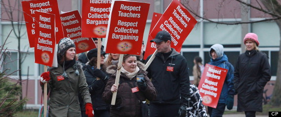TORONTO TEACHER STRIKE