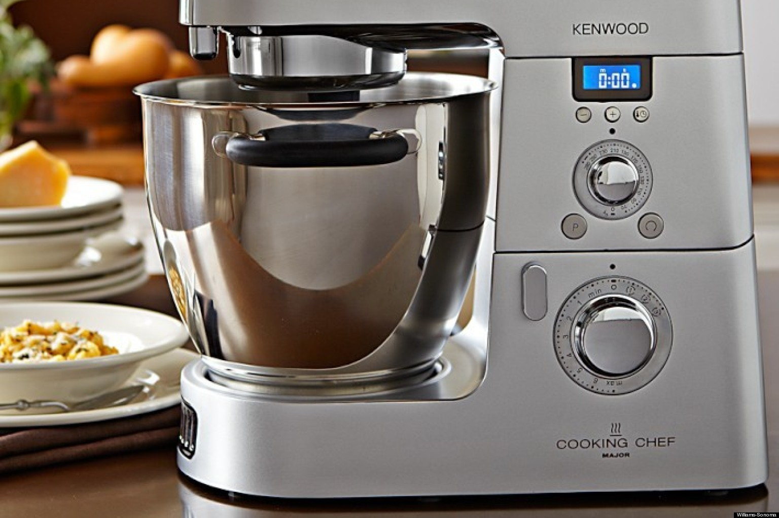 the kenwood cooking chef is a mixer blender food