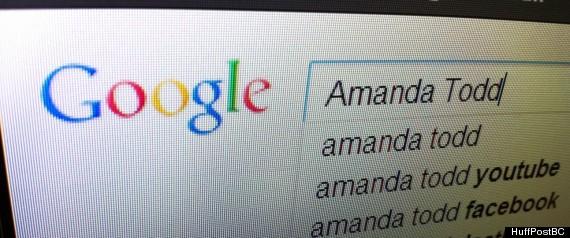 AMANDA TODD GOOGLE