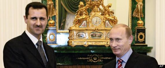 RUSSIA DENIAL ASSAD FALL