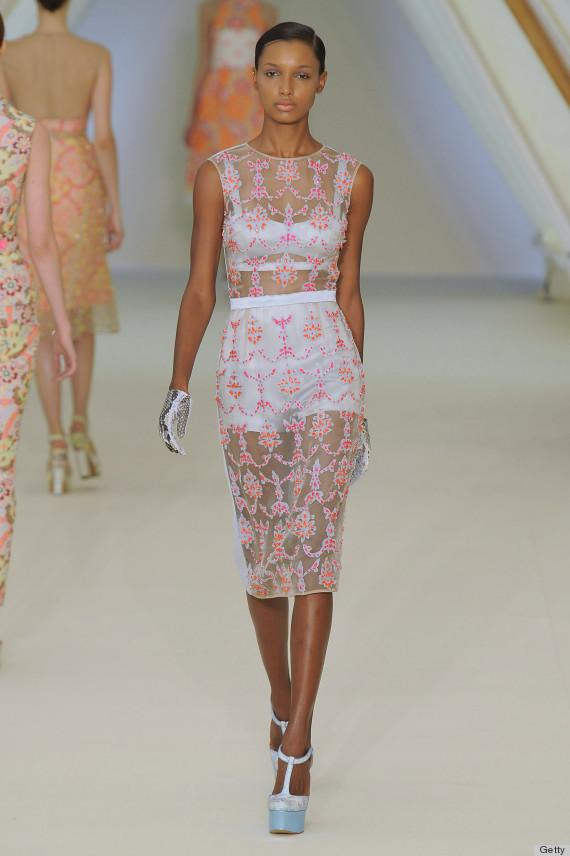 Kristen Stewart Sheer Dress