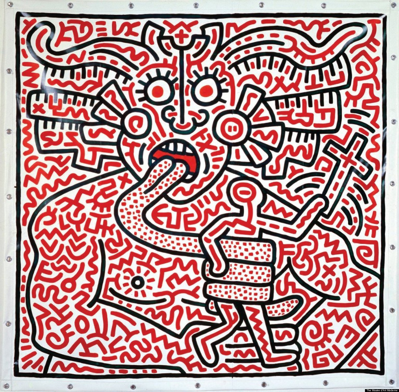 Keith Harring Extravaganza by MrMachineMan on DeviantArt ...