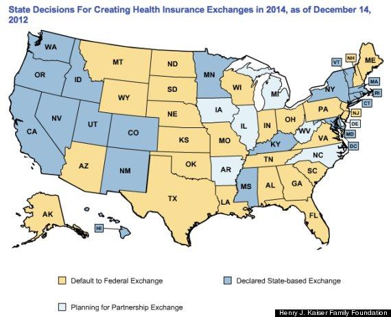 states obamacare