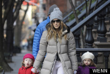 Street Style: Sarah Jessica Parker And Family In New York